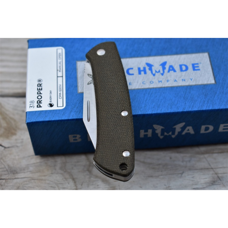Benchmade Proper Clip point